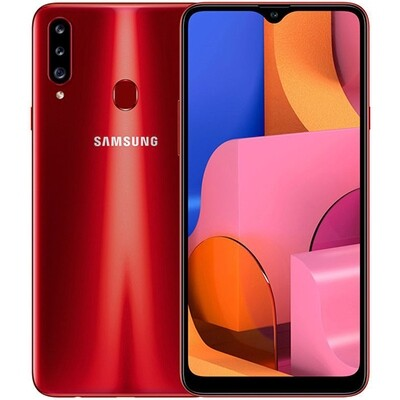 Смартфон Samsung A207 Galaxy A20s 32Gb RUS (красный)