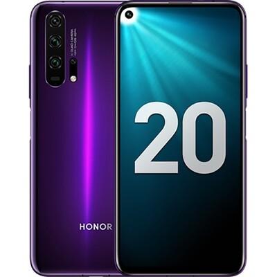 Смартфон Honor 20 Pro 8/256Gb RUS (мерцающий черно-фиолетовый)
