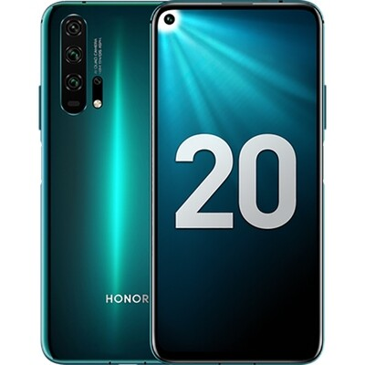 Смартфон Honor 20 Pro 8/256Gb RUS (мерцающий бирюзовый)