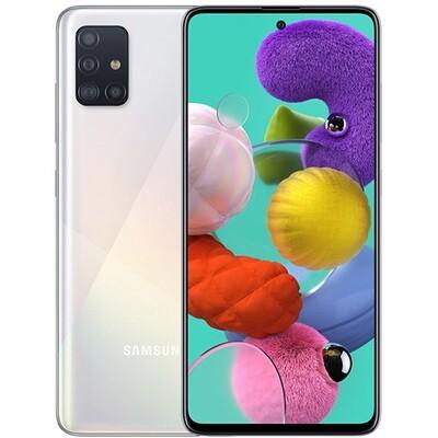 Смартфон Samsung A515 Galaxy A51 64Gb RUS (белый)