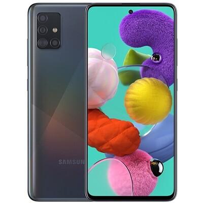 Смартфон Samsung A515 Galaxy A51 64Gb RUS (черный)