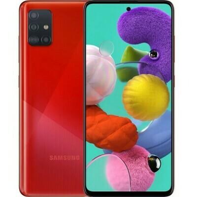 Смартфон Samsung A515 Galaxy A51 64Gb RUS (красный)
