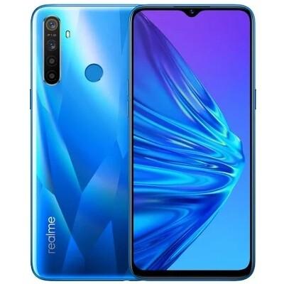Смартфон realme 5 3/64Gb RUS (синий кристалл)