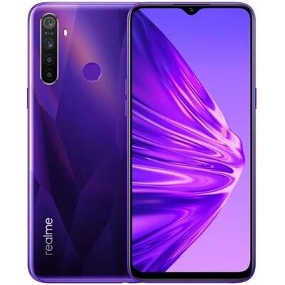 Смартфон realme 5 3/64Gb RUS (фиолетовый кристалл)