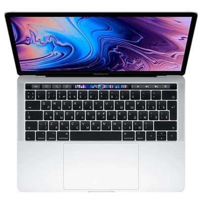 Ноутбук Apple MacBook Pro 13 with Retina display and Touch Bar Mid 2019 MUHQ2 (серебристый)