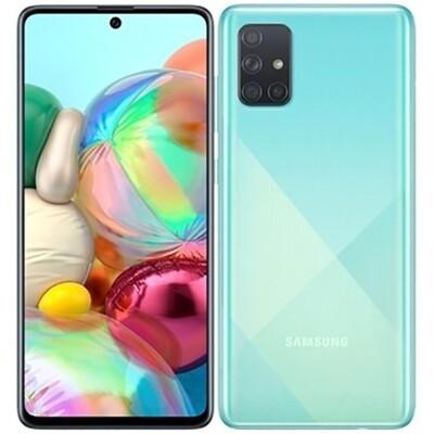 Смартфон Samsung A715 Galaxy A71 6/128Gb RUS (голубой)