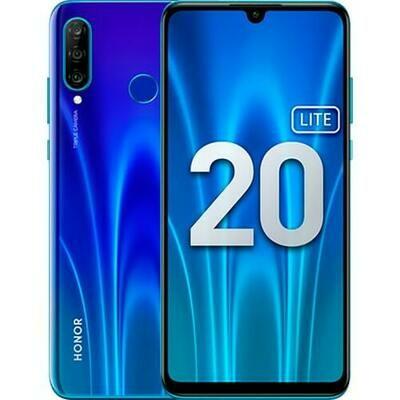 Смартфон Honor 20 Lite 4/128Gb RUS (сияющий ультрамарин)