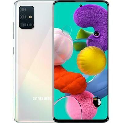Смартфон Samsung A715 Galaxy A71 6/128Gb RUS (серебряный)
