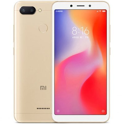Смартфон Xiaomi Redmi 6 4/64Gb EU Global Version (золотой)