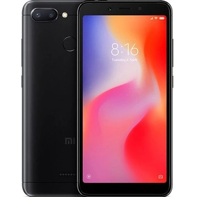 Смартфон Xiaomi Redmi 6 4/64Gb EU Global Version (черный)