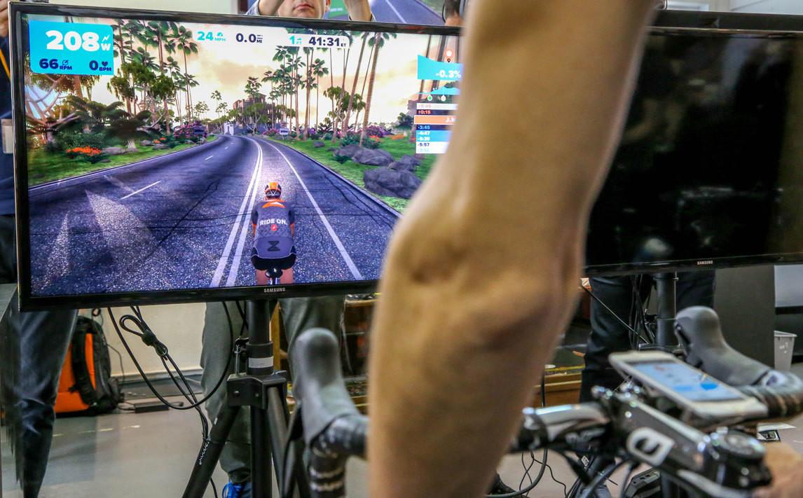 Zwift Starter Kit (Cycleops M2 Trainer, Garmin Speed and Cadence Sensor)