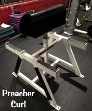 Standing Preacher Curl Bench (used)