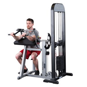 Body-Solid Pro- Select Biceps and Triceps Machine GCBT-STK
