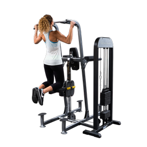 Body-Solid Pro- Select Weight Assisted Chin and Dip Machine FCD-STK