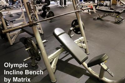 REDUCED! Olympic Incline Bench Press Matrix (used)