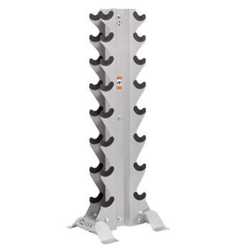 Hoist 8 Pair Vertical Dumbbell Rack  HF-4460