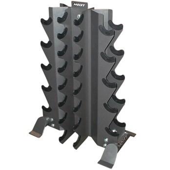 Hoist 4-Sided Vertical Dumbbell Rack HF-4480