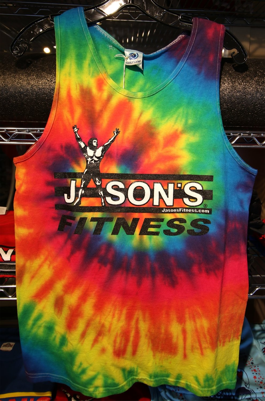 Jason's Fitness Tank Top Tye Dye
