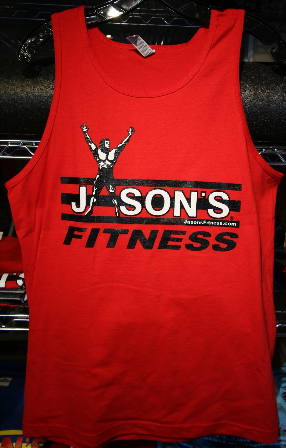 Jason's Fitness Tank Top Red