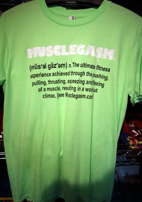 MUSCLEGASM T-Shirt Neon Green 4.3