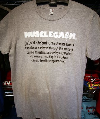 MUSCLEGASM T-Shirt Grey 4.3