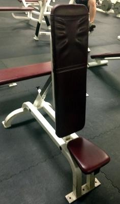 REDUCED! Adjustable Flat to Upright Bench Cybex (used)