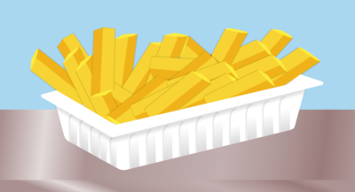 20 pcs Add Fries