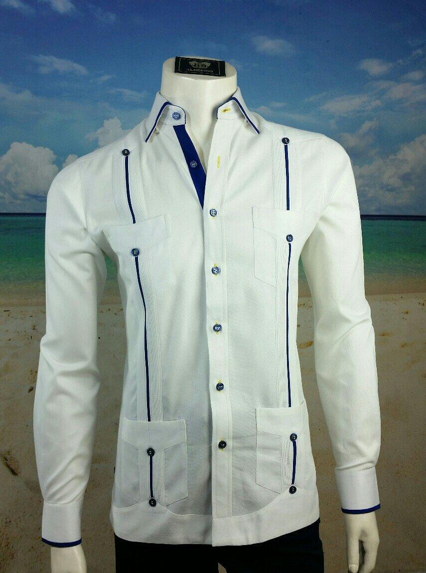 Guayabera Rotary Color Custom Made Long Sleeve 25990 Take Your
