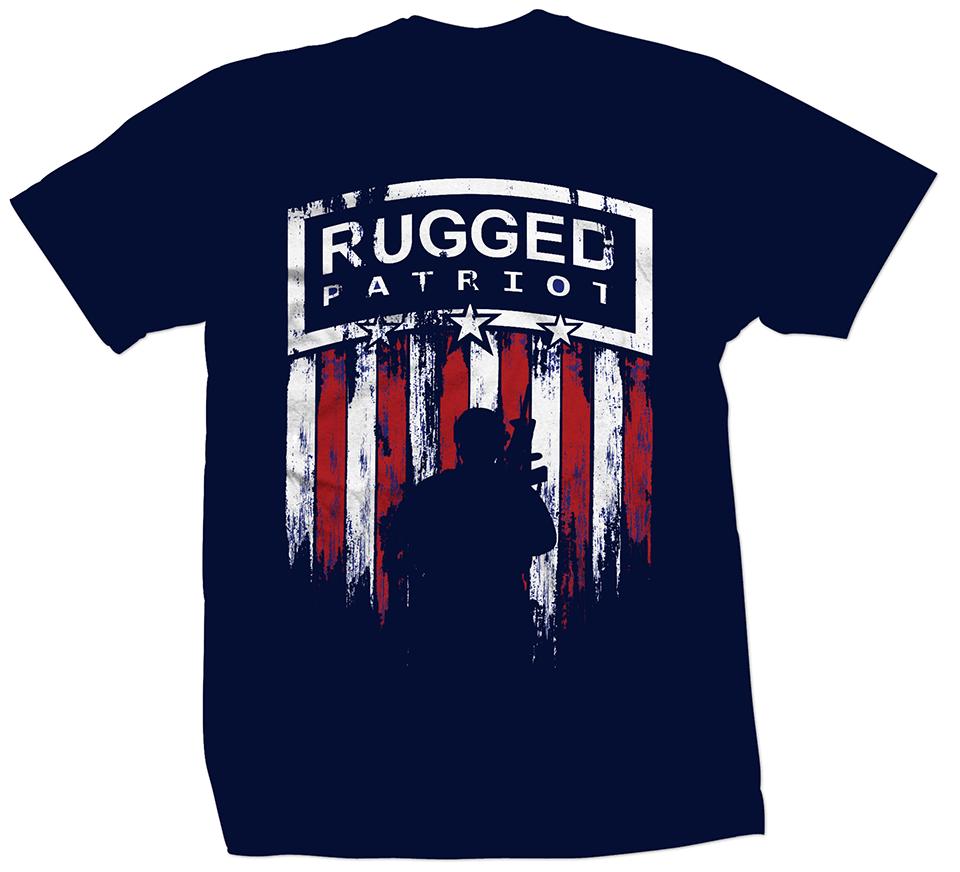 Rugged Patriot Soldier Shirt
