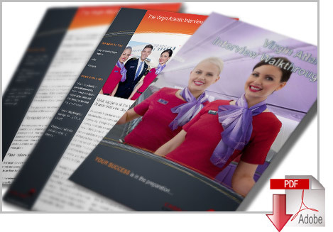 Virgin Atlantic Cabin Crew Interview Cheat Guide VIR01