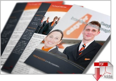 EasyJet Application & Interview Cheat Guides with CV Template