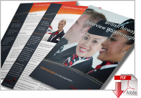 British Airways Application & Interview Cheat Guides with CV Template BAPP