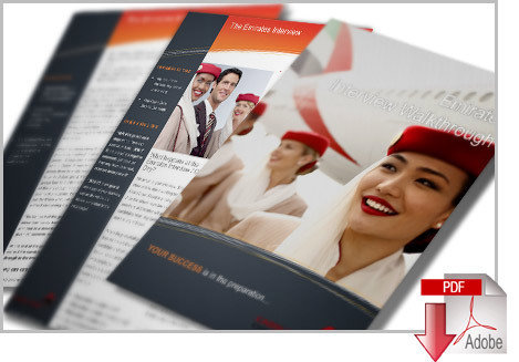 Emirates Cabin Crew Interview PDF Inc Application and CV Guides