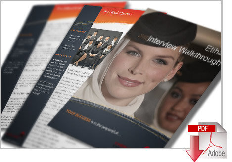 Etihad Cabin Crew Interview PDF Inc Application and CV Guides et007