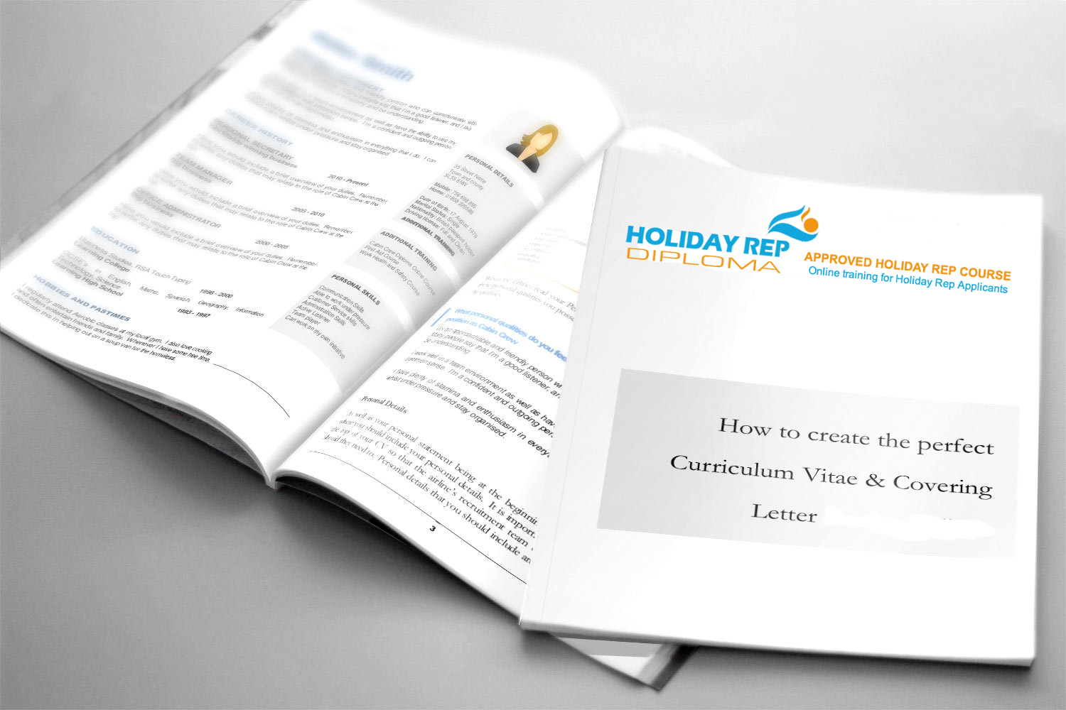 Holiday Rep perfect CV and Covering Letter Cheat Guides REP0010