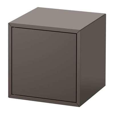 ЭКЕТ Шкаф с дверью - темно-серый