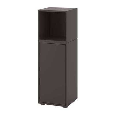 ЭКЕТ Комбинация шкафов с ножками - темно-серый