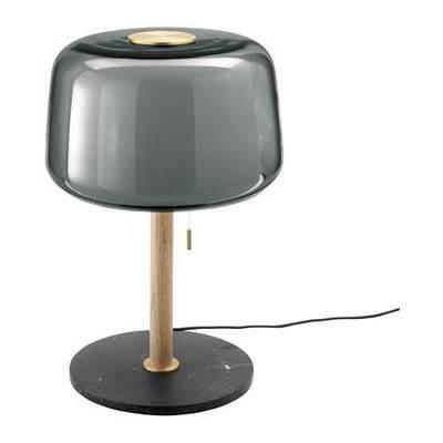 ЭВЕДАЛЬ Лампа настольная - мрамор/серый