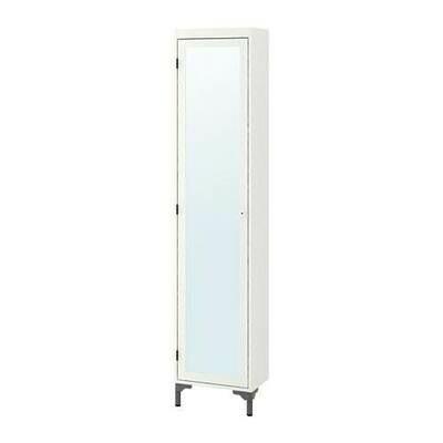 СИЛВЕРОН Высокий шкаф с зеркальной дверцей