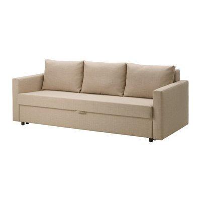ФРИХЕТЭН 3-местный диван-кровать - Шифтебу бежевый