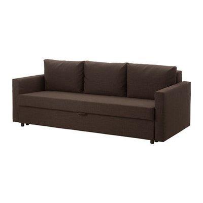 ФРИХЕТЭН 3-местный диван-кровать - Шифтебу коричневый