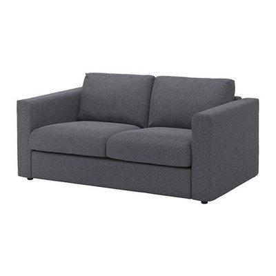 ВИМЛЕ 2-местный диван - Гуннаред классический серый