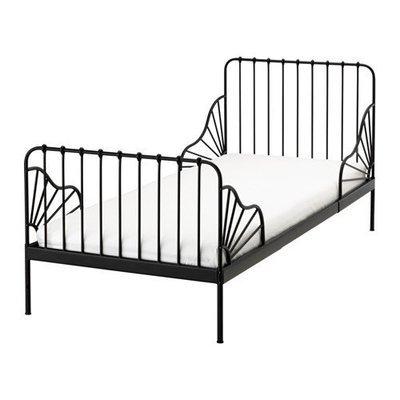 МИННЕН Раздвижная кровать с реечным дном
