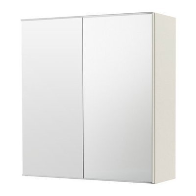 ЛИЛЛОНГЕН Зеркальный шкаф с 2 дверцами