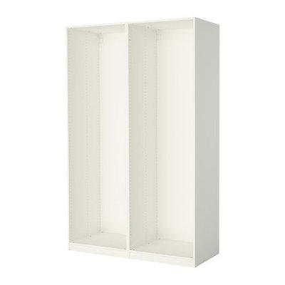 ПАКС 2 каркаса гардеробов - белый