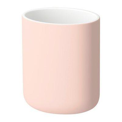 ЭКОЛЬН Держатель д/зубных щеток - бледно-розовый