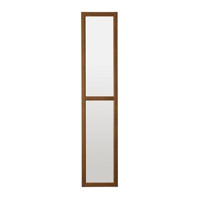 ОКСБЕРГ Стеклянная дверь - коричневый ясеневый шпон