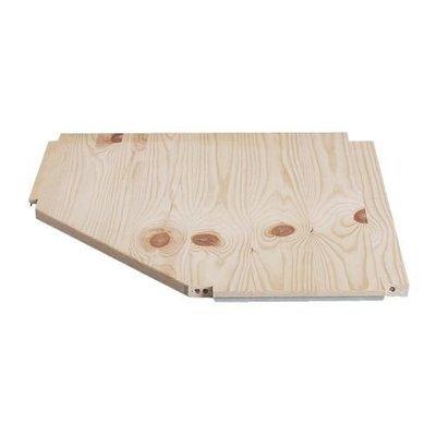 ИВАР Полка угловая - 56x56x30 см