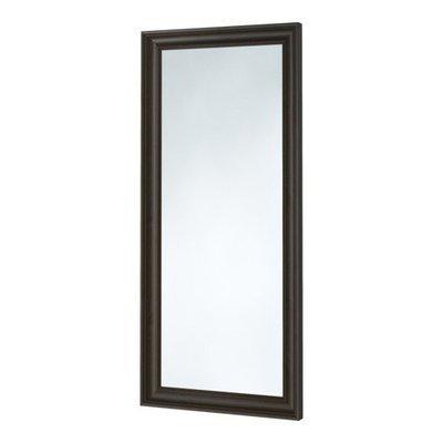 ХЕМНЭС Зеркало - черно-коричневый