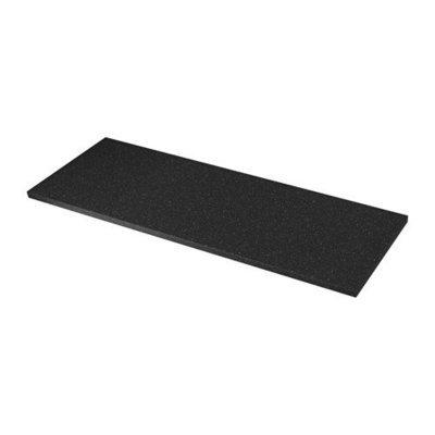 СЭЛЬЯН Столешница - черный под минерал, 246x3.8 см